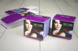 High-impact cosmetic packaging