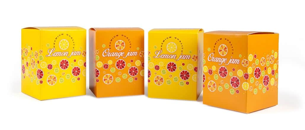 esempio di food packaging design