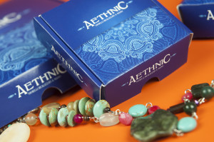 Packaging for ethnic jewelry
