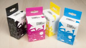 Ink cartridges hanging boxes