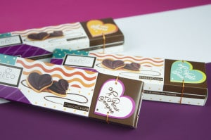 Valentine's day packaging: boxes for small and big loves