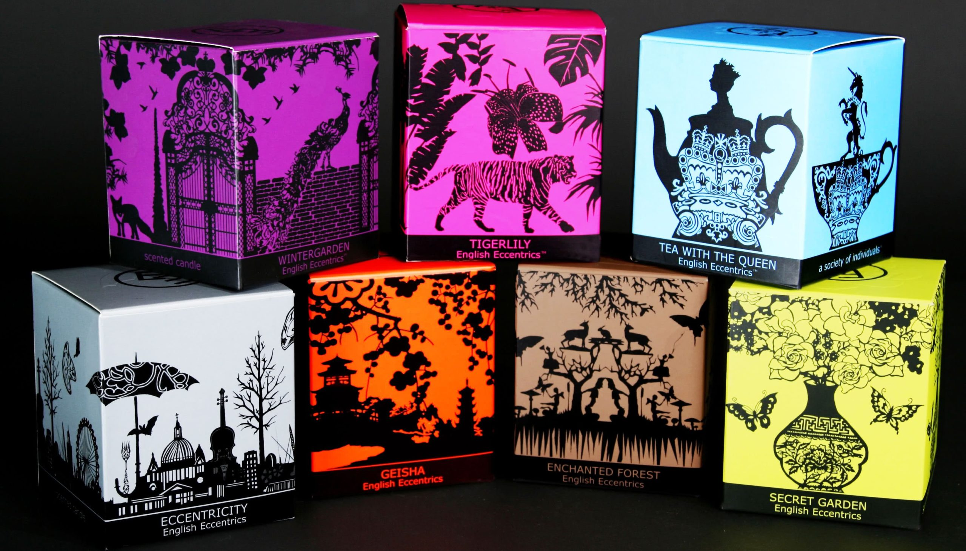 confezioni candele english eccentrics