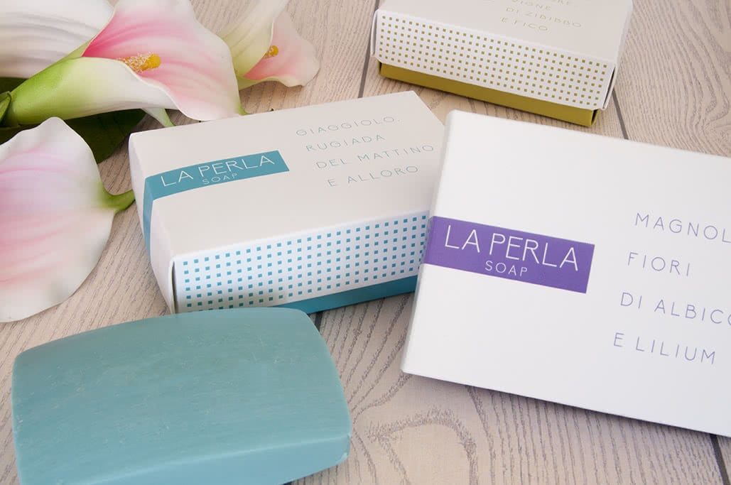 laperla soap packaging