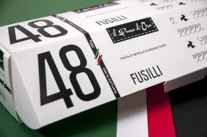 Packaging and pasta: traditions redesign