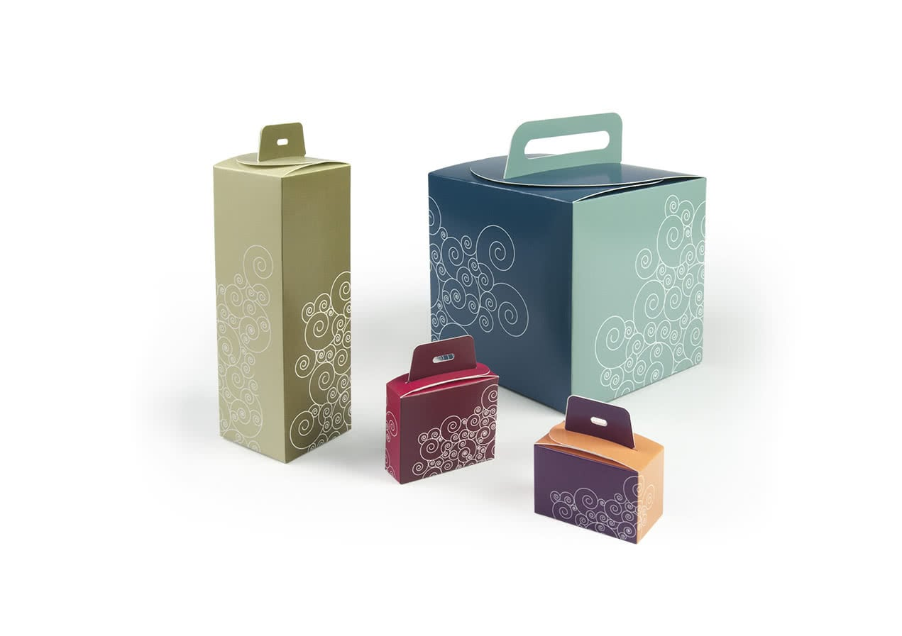 Packly handle box