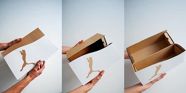 packaging calzature puma