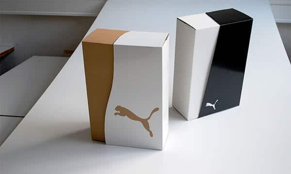 packaging per calzature