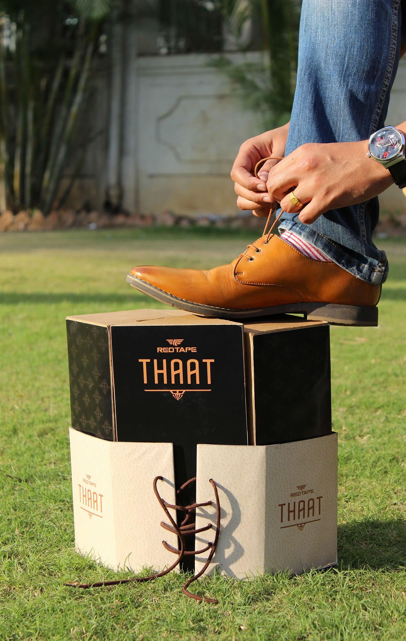 scatola calzature redtape
