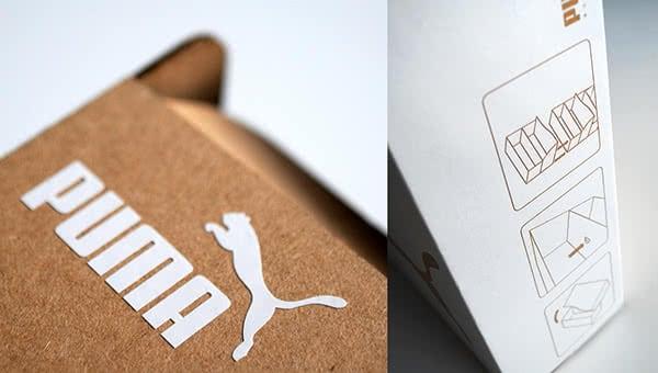 scatola scarpe puma