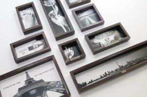 Non solo scatole: cornici personalizzate per foto