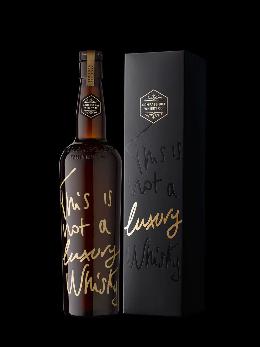 packaging whisky
