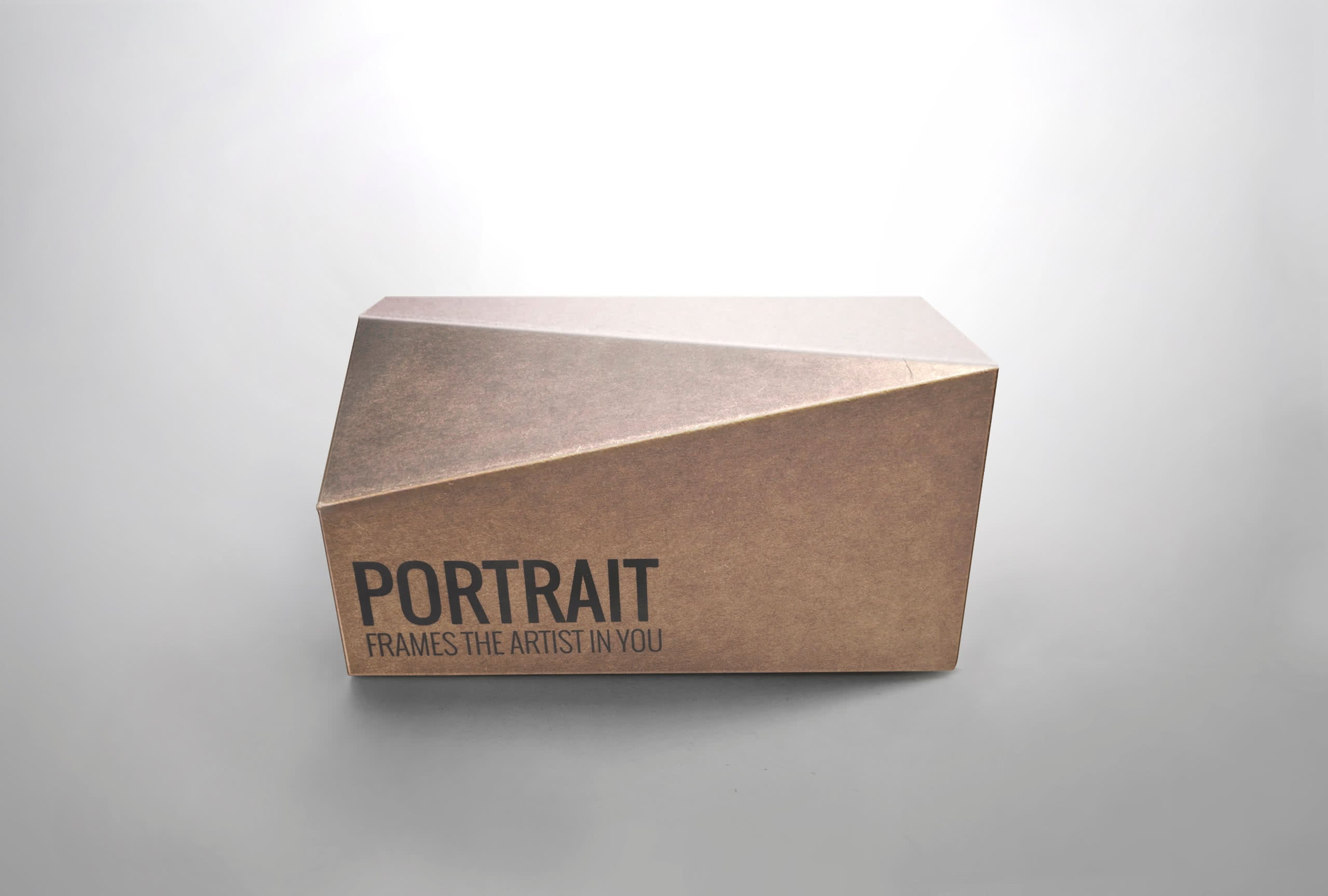 portrait packaging per occhiali da sole