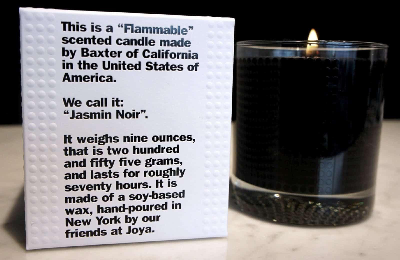 scatola candela