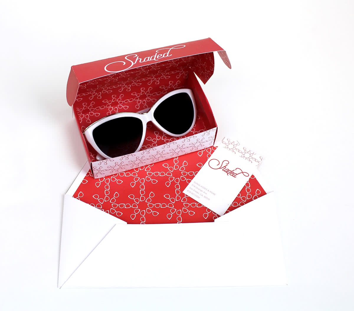 scatola valigetta occhiali da sole
