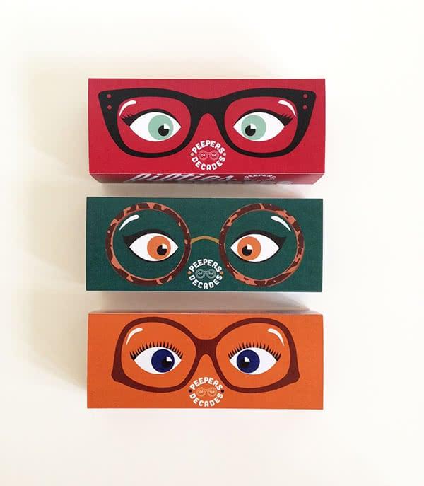 scatole occhiali da sole