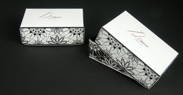 Packaging accessori sartoriali