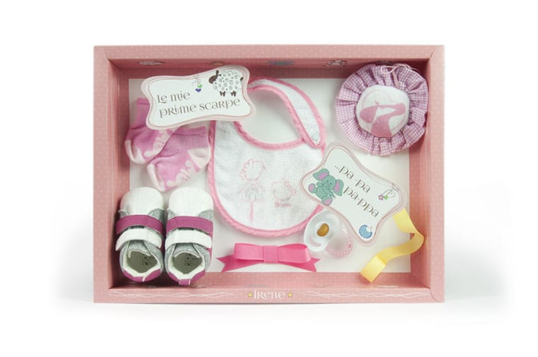 Baby custom shadow box frame