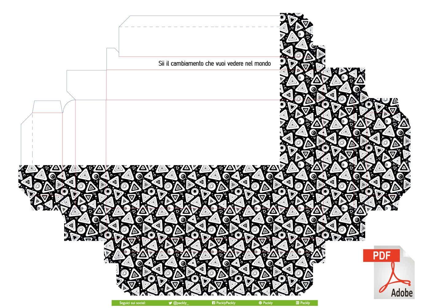 cornice-personalizzata-texture-bianco-nero