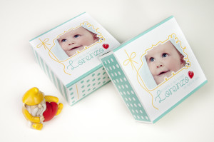 Your custom Baptism favor boxes