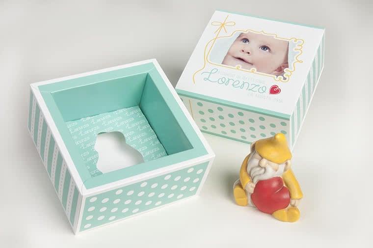 scatola bomboniere battesimo