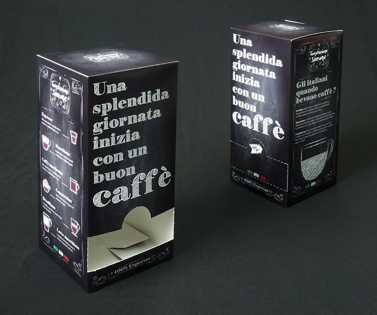 scatola cialde caffe