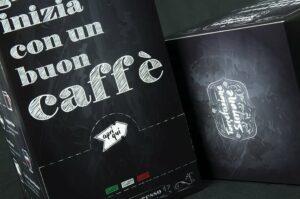Scatola per cialde caffè: il piacere inizia dalla confezione