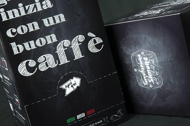 scatola per cialde caffe