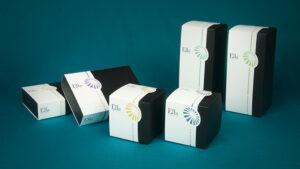 Packaging cosmetico: scatole con fascetta personalizzata