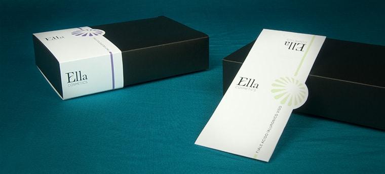 scatole con fascia personalizzata