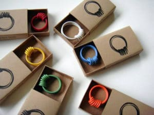 Packaging and jewelry: ring boxes