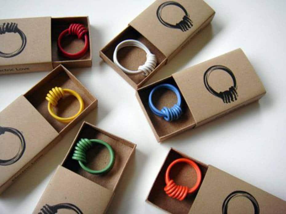 scatole per anelli