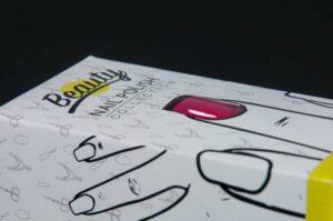 Packaging cosmetico: scatole per smalti