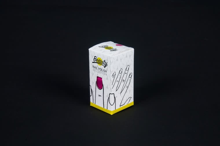 nail laquer packaging