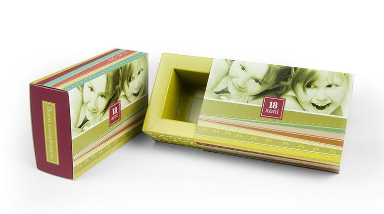 scatole regalo personalizzate compleanno