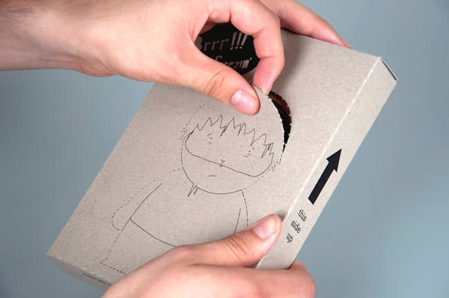 Paper Doll Box