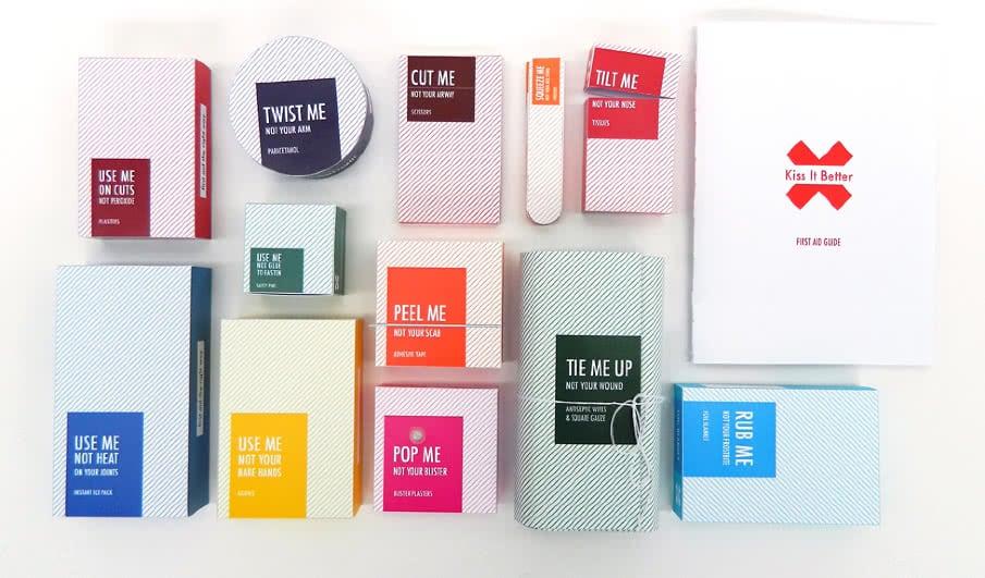 packaging interattivo con-messaggio-dazione