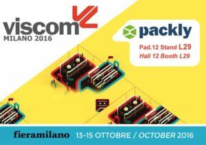 Packly presenterà le sue novità in anteprima a Viscom Italia 2016