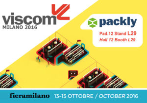 Packly shows off its new features at Viscom Italia 2016