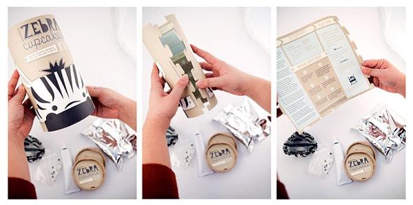 Versatile Cookie Cylinder Box