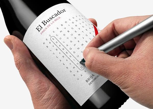 Interactive Spanish Wine Label