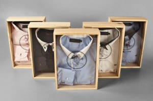 Lid and Bottom Box: 10 clothing packaging ideas for shirts