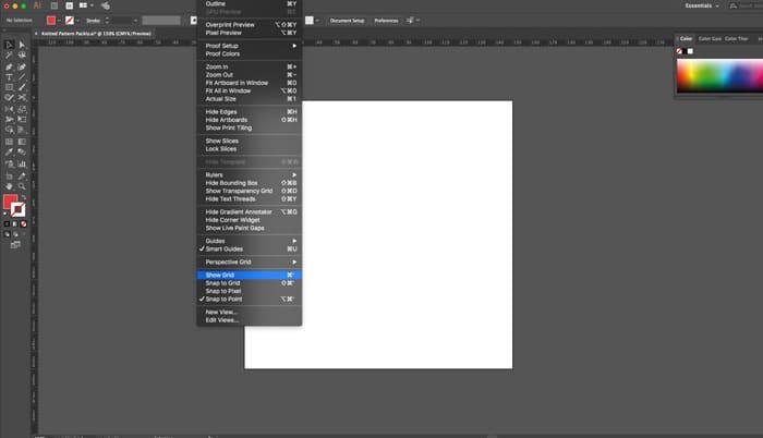 illustrator-document-show-grid