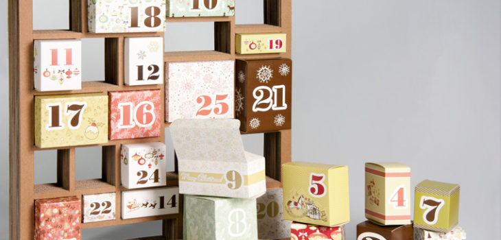 Christmas boxes advent calendar Packly