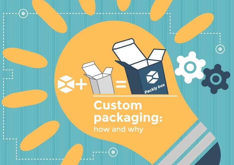 create custom packaging on Packly