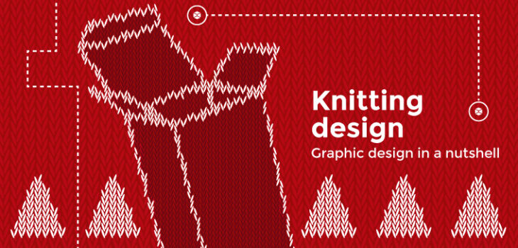 knitting design pattern by Packly