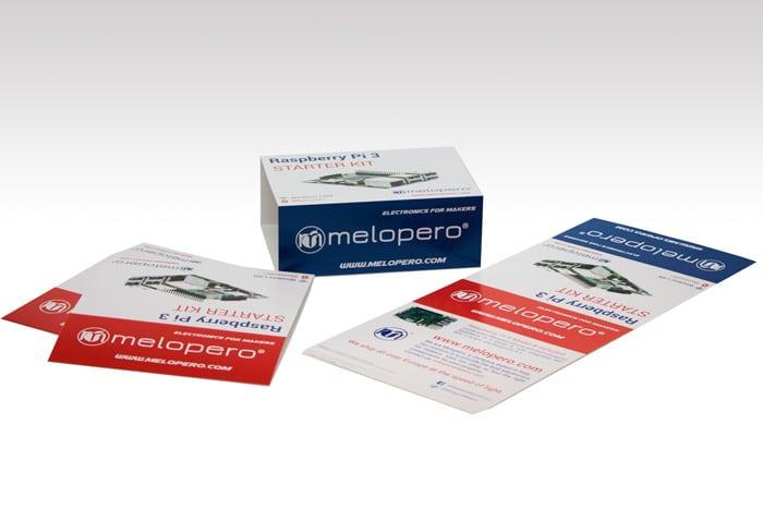 Melopero sleeves Raspberry Pi