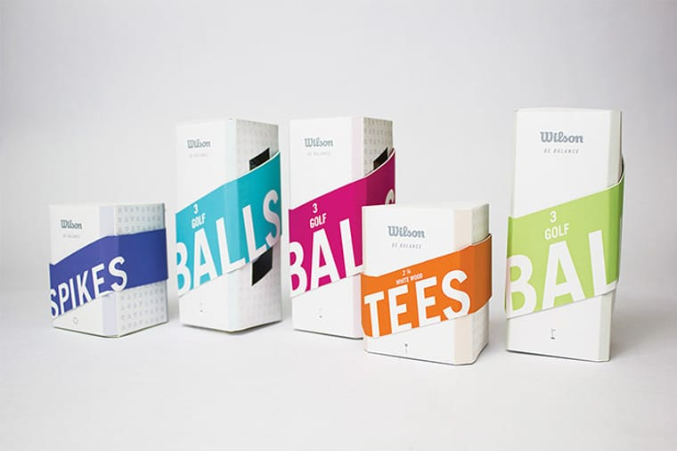 Packaging sport palline-da-golf-Wilson
