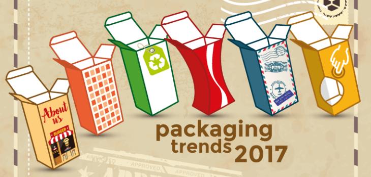 Tendenze packaging design 2017