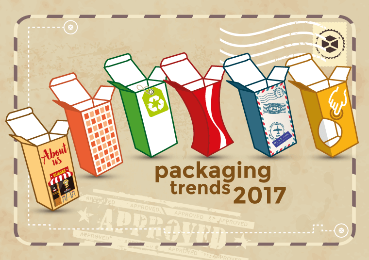 Tendenze packaging design 2017