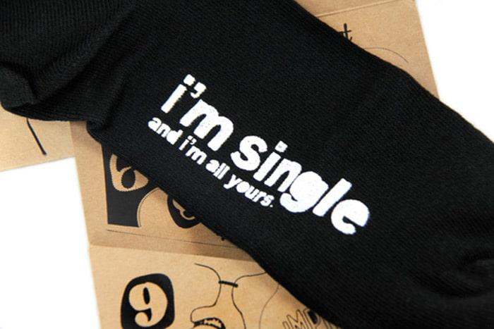 I'm single sock